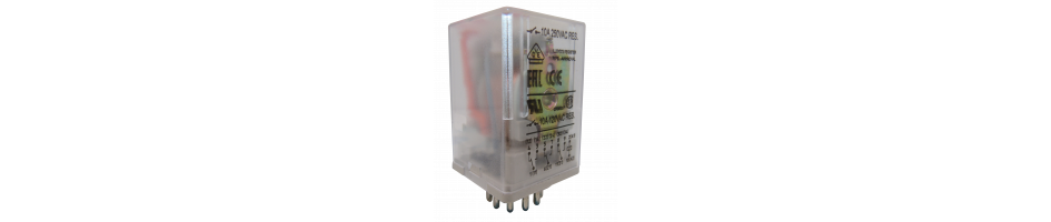 Relevadores Encapsulados con LED