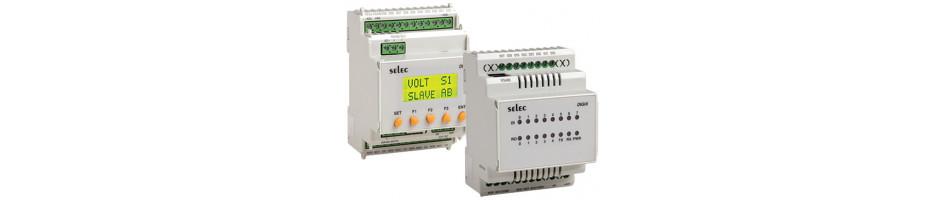 PLC Compacto para Riel DIN