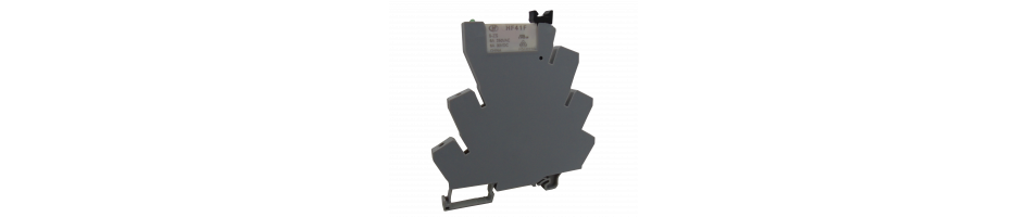 Relevadores tipo clema con LED indicador