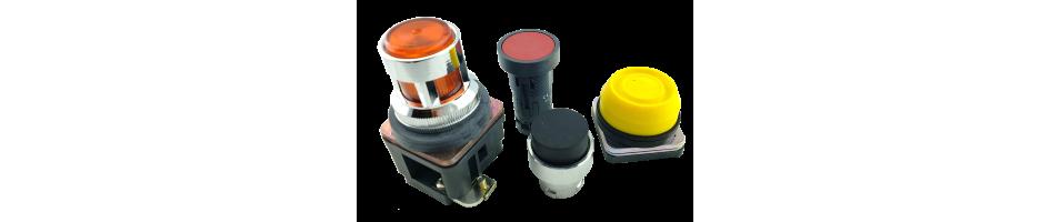 Botones pulsadores