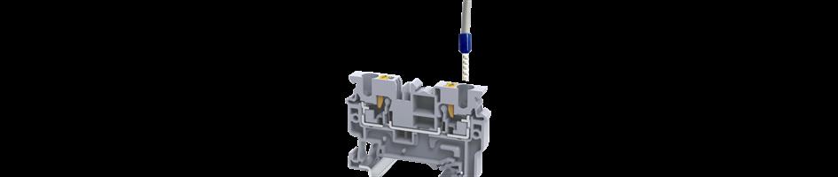 Inserción de cable a presión