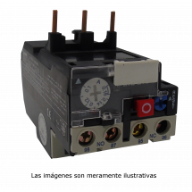 Relevador de Sobrecarga de 9A a 95A