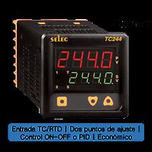 Controlador Temperatura72x72mm