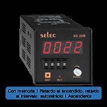 Contador / Totalizador, 72x72mm