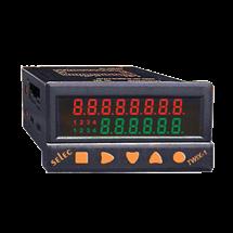 PLC, 48x96mm, pantalla LED