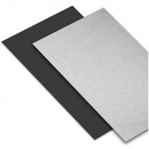 "Hoja aluminio/negro 1/16"""